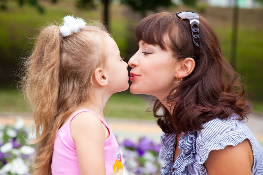 Find Out Why Doctors Says Kissing Your Childs Lips Could